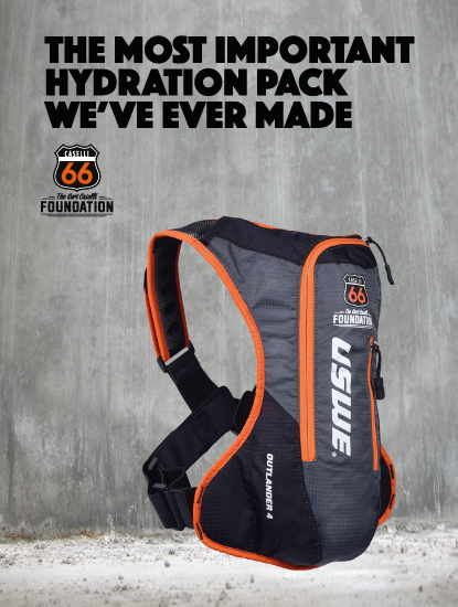 USWE Makes A Hydration Backpack To Honor Kurt Caselli